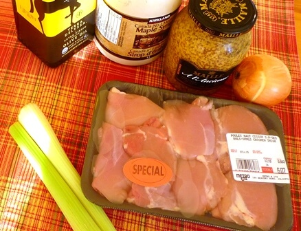 haut de cuisse poulet ingredients tp