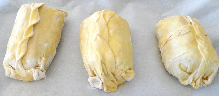 veau en croute surprise - avant cuisson