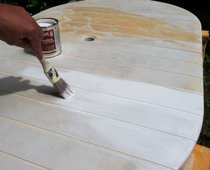 peindre vos meubles de jardin pour r nover votre patio. Black Bedroom Furniture Sets. Home Design Ideas