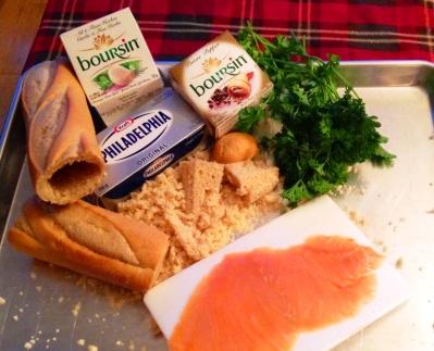 Ingredient - Pain farci au saumon