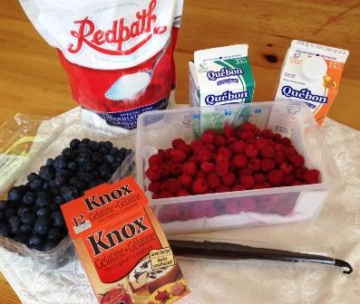 ingredients Panna Cotta
