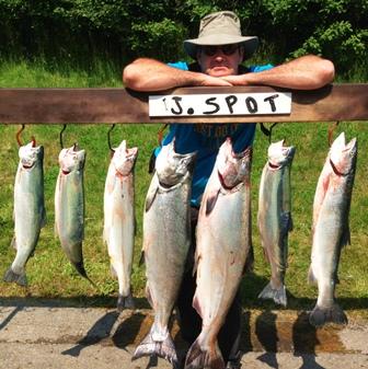 peche lac ontario poisson