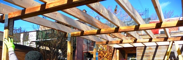 structure toit tp